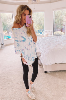 Lounge in Color Tie Dye Shirt