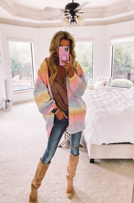 Colors of the Rainbow Cardigan