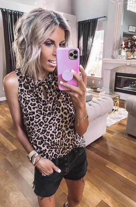 Oh Meow Leopard Tank