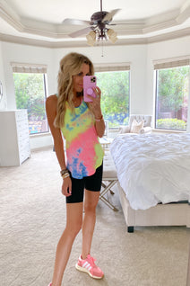 We Can Work it Out Tie-Dye Tank