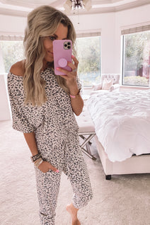 Leopard Lovin Lounge Set