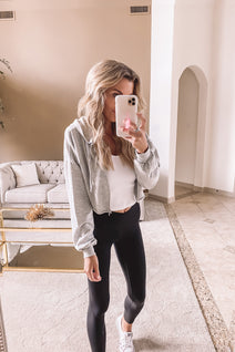 Cute and Cropped Jacket