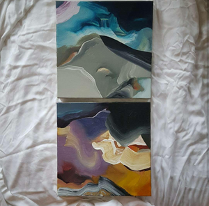 Small diptych