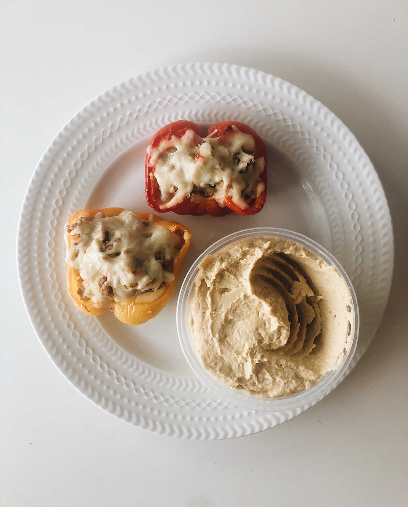 In My Kitchen: Christine's Greek Style Stuffed Peppers | Christies Bakery