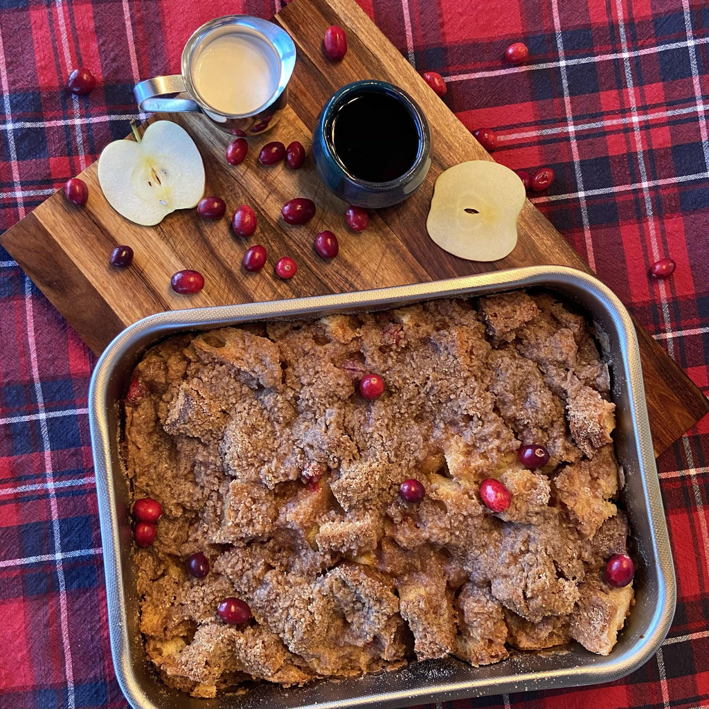 In My Kitchen: Cinnamon Streusel Baked French Toast | Christies Bakery