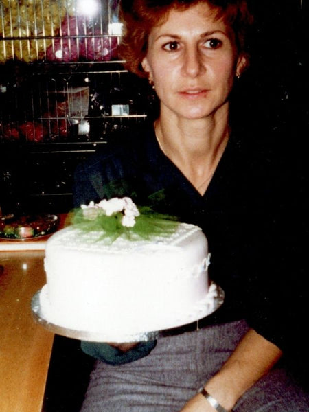 Janet Muzzolini from earlier days at the bakery.