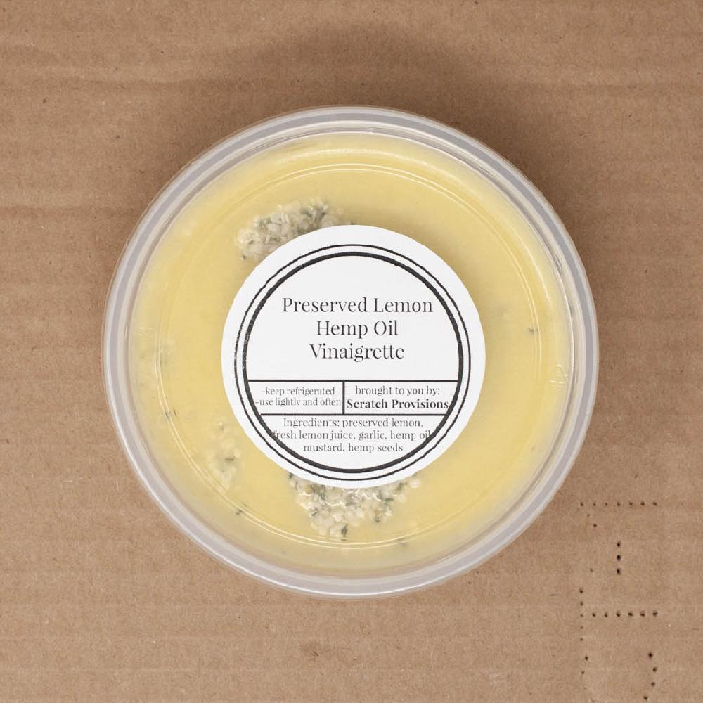 Preserved Lemon, Hemp Oil Vinaigrette Dressing - Moda Market