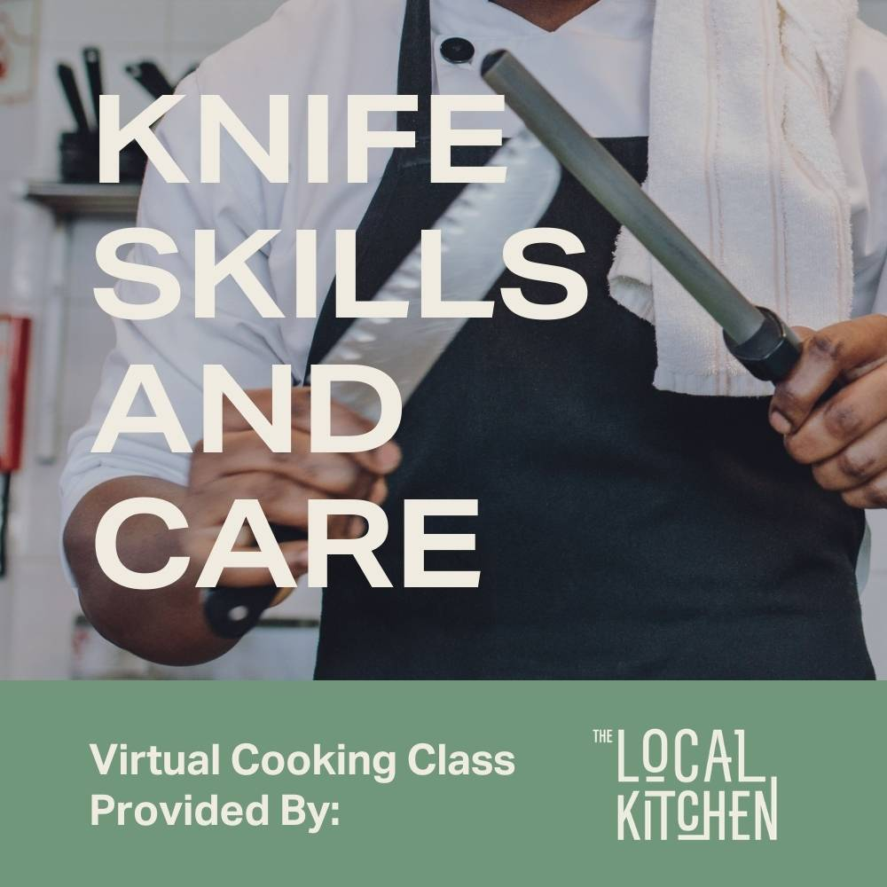 Virtual Chef School: Knife Skills and Care with Greg - Moda Market