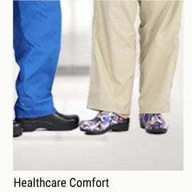 Healthcare comfort shoes