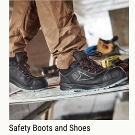 Safety boots & shoes