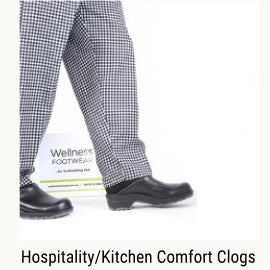 Hospitality & kitchen comfort shoes