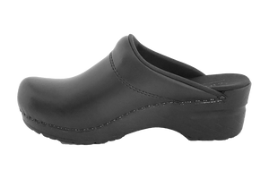 Sanita San Flex chef clogs comfortable black inside