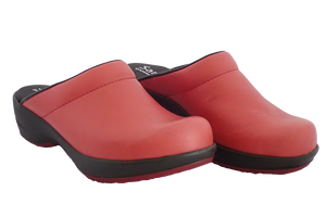Sanita Wave Comfort Clogs - Red