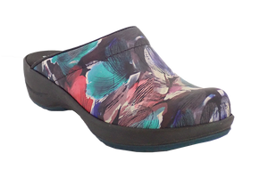 Waves Faves Sanita Trixy Rose nurse shoes