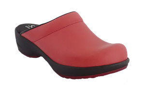 Sanita Wave Faves Comfort Clogs - Red