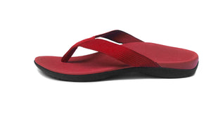 Axign Orthotic Flip Flops-Red