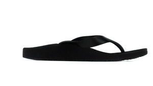 Archline Black Flip Flop Thongs side