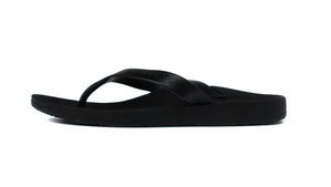 Archline Black Flip Flop Thongs side1