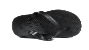 Archline Black Flip Flop Thongs above