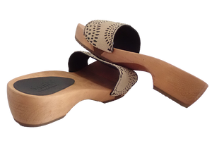 Sanita sandals on sale - dina brown back two view