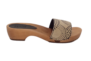 Sanita sandals on sale - dina brown side view