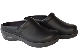 Wellness Faves Open Clog - most comfortable nursing shoe two diagonal view