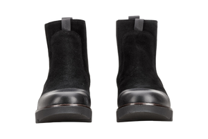 Sanita Lisi Boots leather and suede - two front view