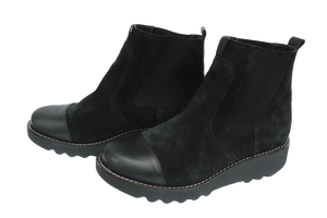 Sanita Lisi Boots leather and suede - two diagonal other side
