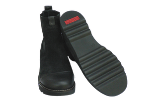 Sanita Lisi Boots leather and suede - showing sole two
