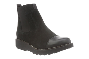 Sanita Lisi Boots leather and suede - diagonal view