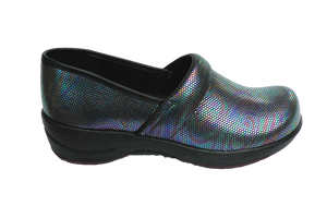 Sanita Waves Shine Closed Comfort Work Shoe