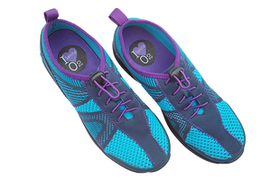 Sanita O2 comfortable walking shoes - two above view