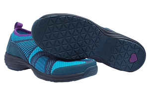 Sanita O2 comfortable walking shoes - two with sole
