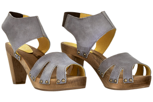 Sanita Viv Wood Sandals - two