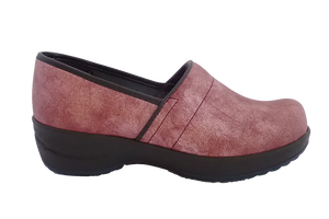 Sanita Waves Shell Closed Comfort Work Shoe - side view