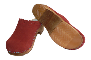 Sanita Kat Coral Wood clogs