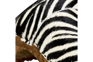 Sanita Zebra Wood clog - close up