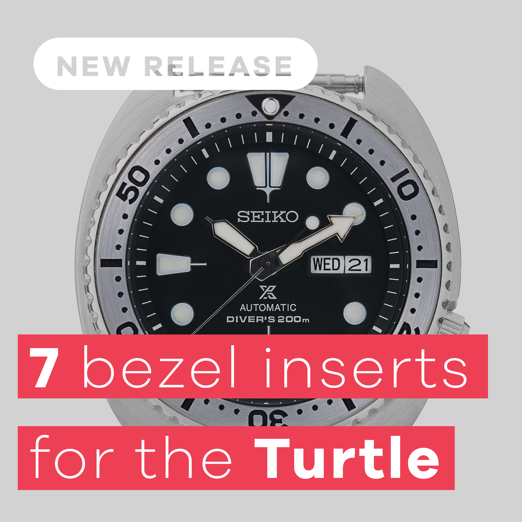 New Release: Bezel Inserts for the Seiko Turtle