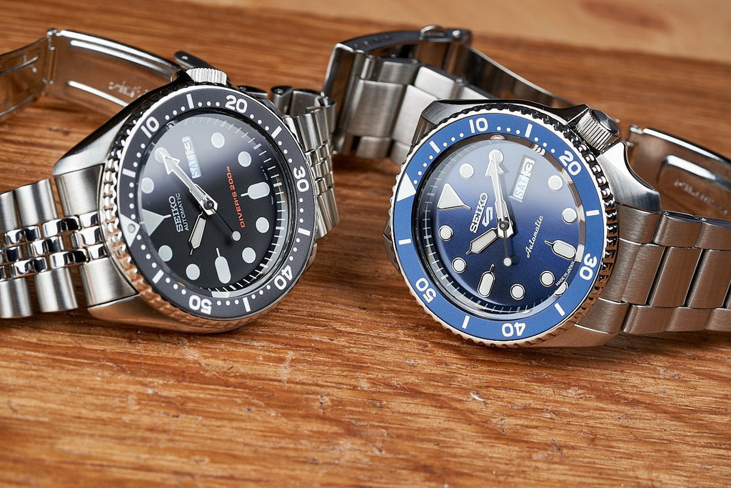 Head to Head: SKX vs 5KX (aka. SRPD, Seiko 5 Sports)