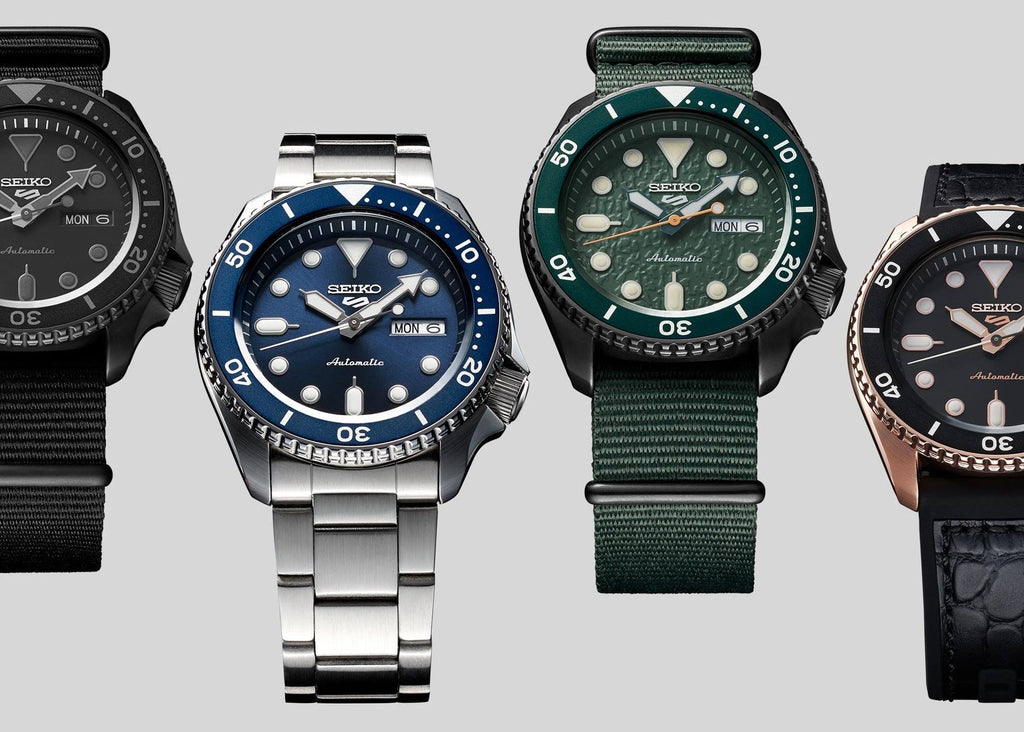 Seiko 5 Sports SPRD and SKX007 mod parts compatibility