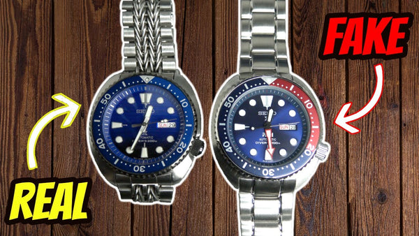 Real vs Fake Seiko How to spot