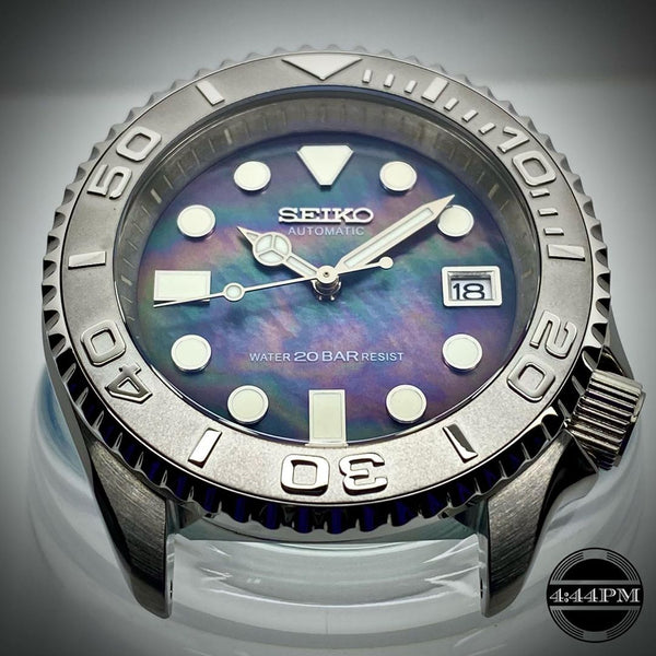 Seiko SKX007 Mod Mother of Pearl Dial