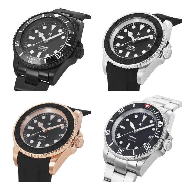 Ready to wear fully modded watches