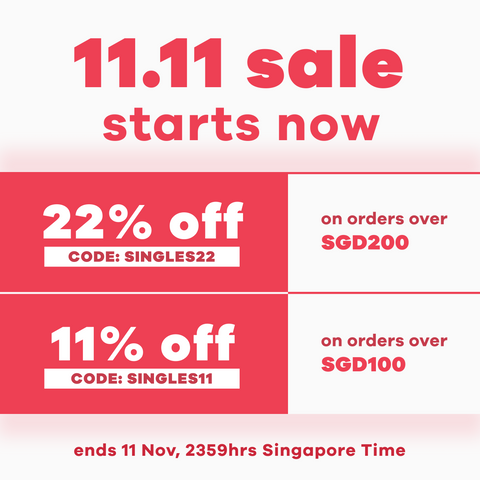 11.11 Singles Day promotion