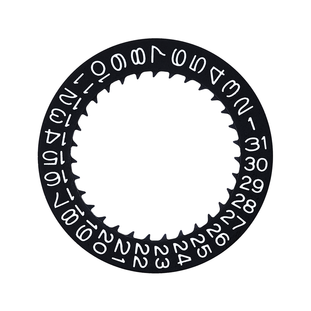 NH35/36A Kanji Date Wheel Disc (Black)