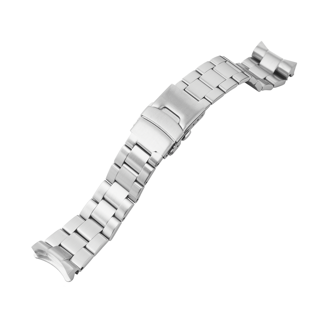 SRP Turtle Watch Bracelet: Oyster Brushed Finish