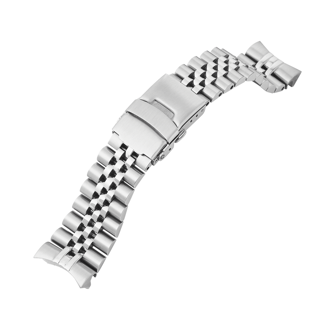 SRP Turtle Watch Bracelet: Jubilee Brushed/Polished Finish