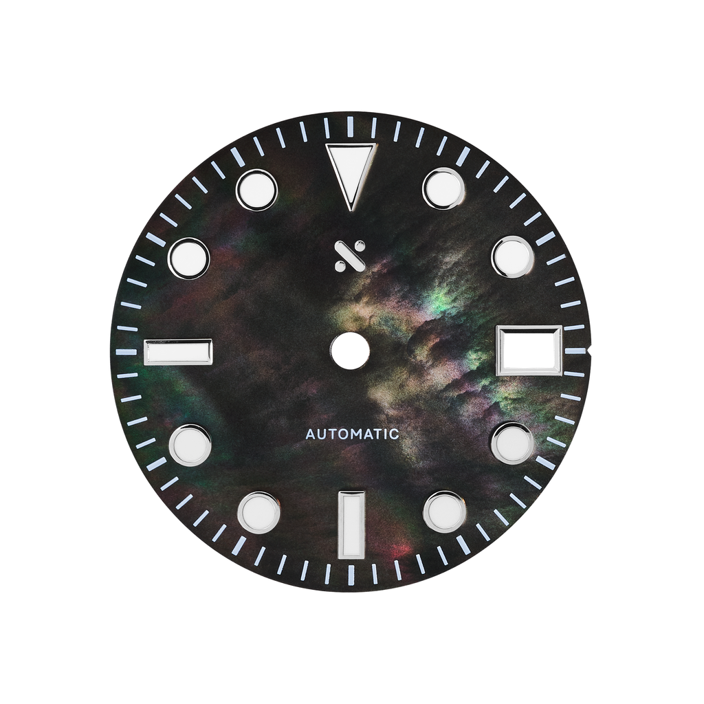 Watch Dial: Divemaster Mother of Pearl Black
