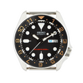 SKX Ceramic Bezel Insert: Dual Time style Black/Gold