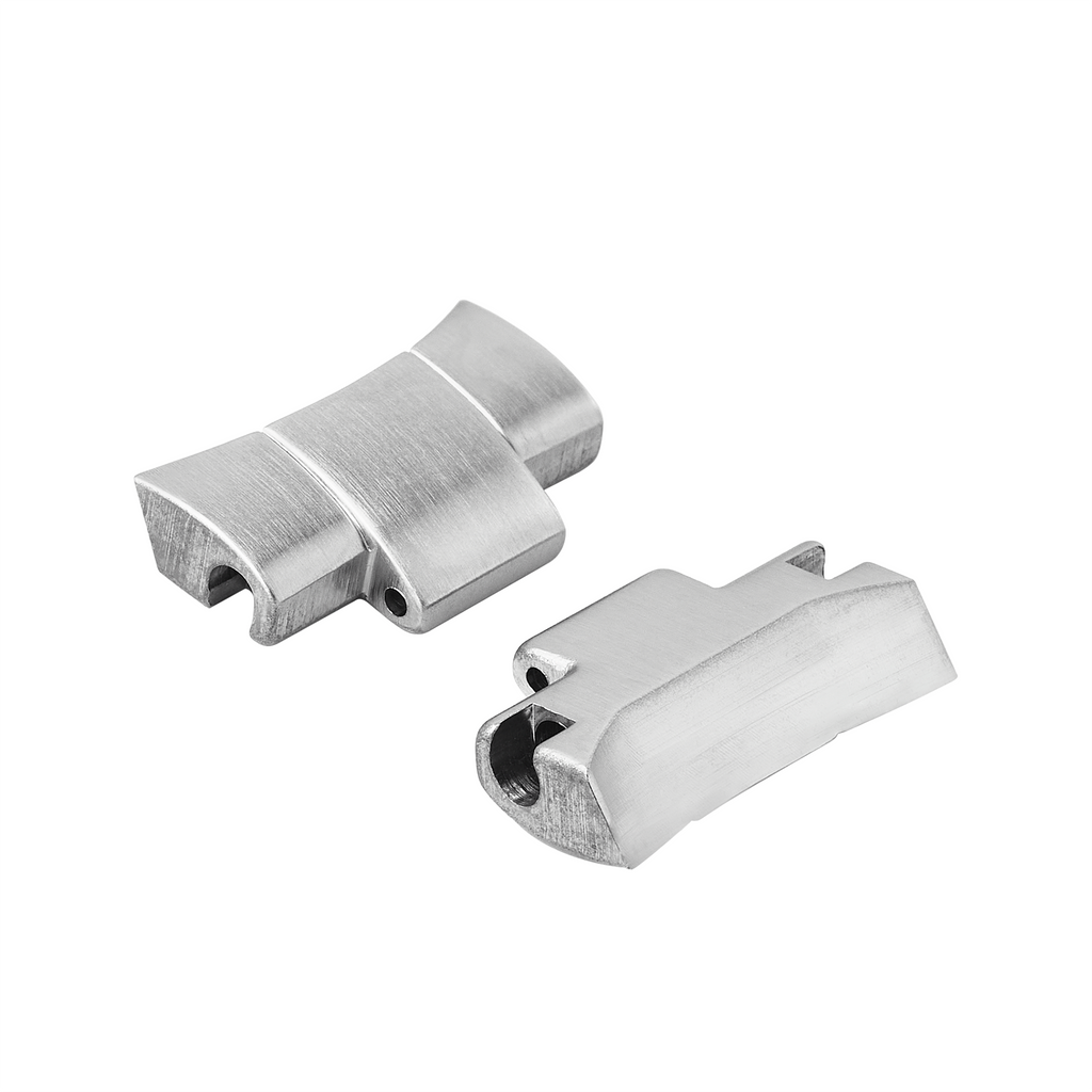 NMK912 Oyster Solid End Link: Brushed Finish